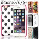 Time Sale!New Design kate instock 30 style dot new fashion lovely carton PC case cover for new iPhone5s iPhone6 iPhone6 plus case cover