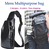 [MY][free shipping]Multipurpose Nylon backpack Sling Bag for Men/Messenger Bag/Multifunctional Sling Bag/Business/Bag/Casual Bag/Canvas Bag/fathers day