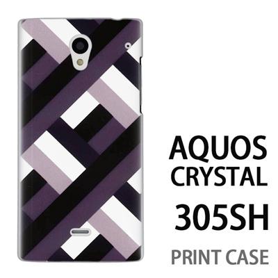 AQUOS CRYSTAL 305SH 用『0912 cave柄 セサミ』特殊印刷ケース【 aquos crystal 305sh アクオス クリスタル アクオスクリスタル softbank ケース プリント カバー スマホケース スマホカバー 】の画像