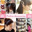 「mixshop.sg」★ Fashion Accessories ★ Hair Accessoreis / Hairband / Headband / Hairclip / 1000 plus designs