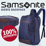 100% Authentic Samsonite DIENTE Backpack / Laptop Backpack / Bag /Navy+Coffee color available / Unisex / By IDEAS FOR LIFE /