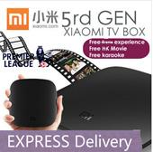 1 yr warranty  Attractive GIFT latest 5th Gen 4k version XIAOMI TV box free latest hk us kr tw drama thai android tv box