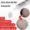 [One Shot All Kill Ample] Real beauty ampoule / Glutathione / Alpha lipoic acid / Hyaluronic Acid / PPC / korea cosmetic