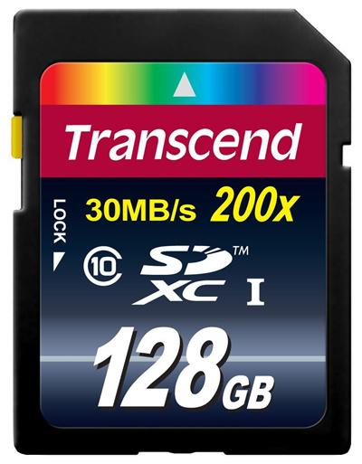 メルDM便送料無料正規国内販売代理店トランセンドSDXC128GBカドTS128GSDXC10