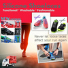16pcs Silicone Shoelace Elastic Easy Tie Shoes Lace All Sneakers Fit Strap /lock laces/running lace