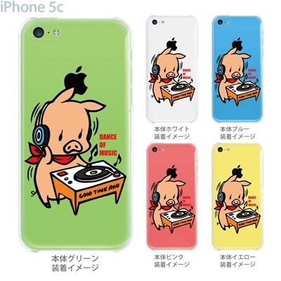 【SWEET ROCK TOWN】【iPhone5c】【iPhone5cケース】【カバー】【スマホケース】【クリアケース】【Clear Arts】【アート】 46-ip5c-sh2011の画像
