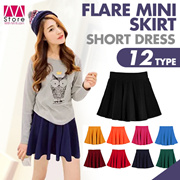 New design!!! Flare mIni skirt/ Short dress/ Cozy/ Comfortable/ Elegant looking/ Classic/ Dating/ Tourism/ Soft/ Durable/ Outwear/ High quality/ Spring/ Autumn       【M18】