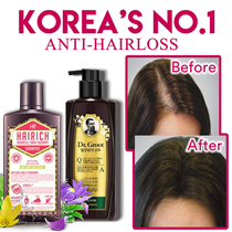 [Qoo10 Bestseller]  ❤ ANTI- HAIR LOSS SHAMPOO ❤2019 UPGRADE VERSION RAVE REVIEWS FOR HEALTHY SCALP ❤