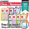 [LOWEST PRICE][LEADERS INSOLUTION]Skin Clinic / Renewal Face Mask 50 pcs Set  /Facial Mask/Foot Mask/Collagen/Winter/Snail White/Whitening