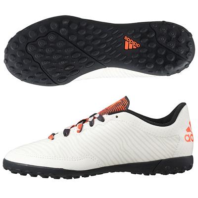 アディダス (adidas) ジュニア エックス 15.3 CG J(チョークホワイト×クリアブラウン×コアブラック) S83235 [分類:フットサル フットサルシューズ (屋外用)]の画像