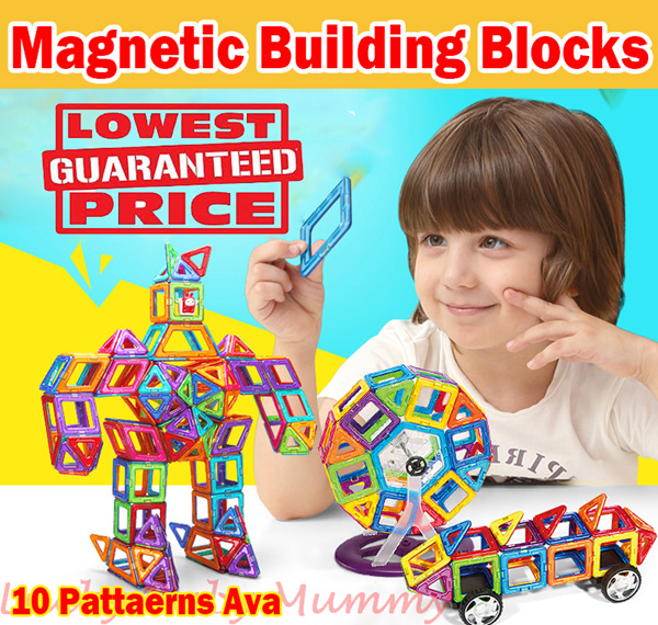 ?24hr shipping out? Magnetic Toy/Magnetic building blocks/Magnet construction toys/ Construction Piece Puzzle Toys /Educational toys Deals for only S$100 instead of S$0