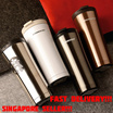 STARBUCKS LATEST BIG METALLIC MUG / THERMAL FLASK / WATER BOTTLE! 2016 LATEST DESIGN! CHEAP AND BEST TO BE GIFT. ELEGANT AND NEVER OUTDATED!!! CHRISTMAS!!!