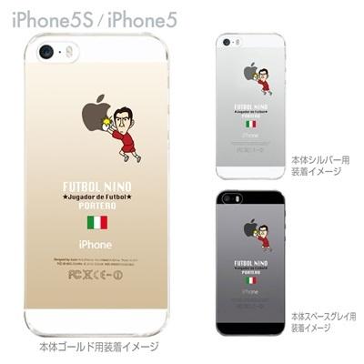 【イタリア】【FUTBOL NINO】【iPhone5S】【iPhone5】【サッカー】【iPhone5ケース】【カバー】【スマホケース】【クリアケース】 10-ip5s-fca-it05の画像