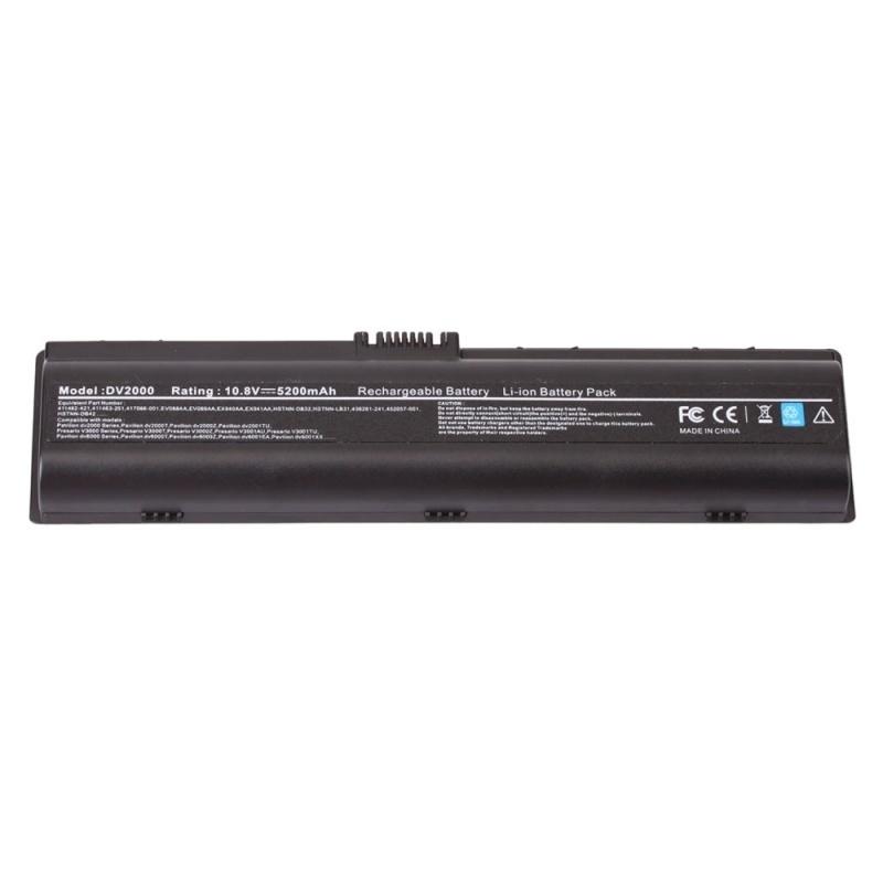 【クリックで詳細表示】5200mAh Battery for HP Compaq Pavilion DV6500 DV6400 DV6100 DV2100 DV6300 DV6200