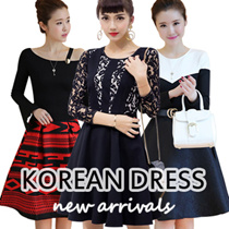 【2/12 NEW ARRIVALS】Korean style Slim lace Chiffon dress/Long sleeve Dress/Sleeveless Short sleeve/OL/Occupation Casual Dress