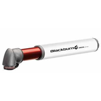 ブラックバーン(Blackburn) エアスティック 2ステージ ホワイト ポンプ 空気入れ 自転車 サイクル 3BB-AS2ST-WH 【サイクリング ロード MTB アクセサリー ライド】の画像