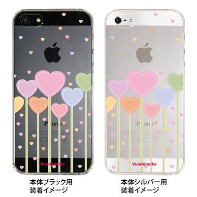 【iPhone5S】【iPhone5】【Vuodenaika】【iPhone5ケース】【カバー】【スマホケース】【クリアケース】【フラワー】 ip5-21-ne0022の画像