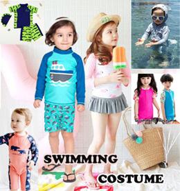 Children Swimming Custume / Baby Boy Girl Kids Swimming Wear / Romper Style Swimming Suit / Goggles