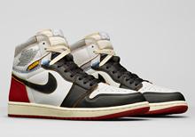 Nike Jordan 1 Union Black Red (Code: BV1300 106)