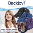 BackJoy SitSmart Posture Relief with soft covering (3 colors available)