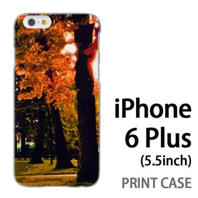 iPhone6 Plus (5.5インチ) 用『No4 木漏れ日』特殊印刷ケース【 iphone6 plus iphone アイフォン アイフォン6 プラス au docomo softbank Apple ケース プリント カバー スマホケース スマホカバー 】の画像