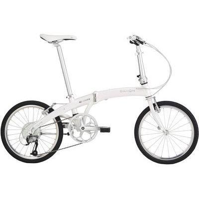 【クリックで詳細表示】DAHON(ダホン) DAHON(ダホン) Mu P9 20インチ 9段変速 オーロラホワイト 折りたたみ自転車 16MUP9WH00