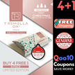 [BEST SELLER] Upgraded Version Tremella-Dx+   4 Boxes + 5 Sachets ~ READY STOCK