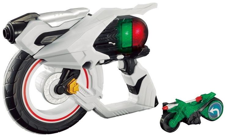 【クリックで詳細表示】仮面ライダードライブ 車輪回転銃 DXゼンリンシューター バンダイ [おもちゃ]