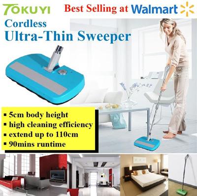 Buy Tokuyi Cordless Ultra Thin Sweeper Carpet Floor
