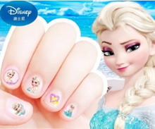 Dress up for party!!! Cute girls nail sticker - frozen/disney princess/sophia/minnie