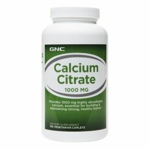 【クリックで詳細表示】[アメリカ直送] [サプリメント] GNC Calcium Citrate 1000mg, Tablets 180 ea