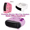 Portable Electric Mini Warm Safe Fan Heaters/ Home Office Heat Warmer
