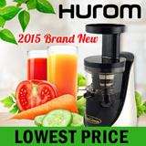 [ 2015 Hurom Brand New ] 2nd Generation 45RPM Premium Slow Juicer HN-NBK20 / HN-LBK20 Smootie Maker Fresh Fruit Juice Extractor Same functions as HH-SBF11
