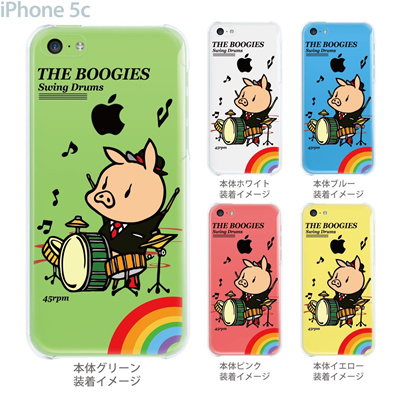 【SWEET ROCK TOWN】【iPhone5c】【iPhone5cケース】【カバー】【スマホケース】【クリアケース】【Clear Arts】【アート】 46-ip5c-sh2016の画像