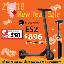 🍊CNY SALE🍊Segway ES2 Escooter➕Seat➕External Battery   💯 OFFICIAL DISTRIBUTOR   UL2272 ✅