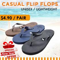 [Lowest Price Guarantee!] Unisex Casual Flip flops Shoes / Mens sandal / Journey Shoes / Men′s Cool Fashion / Good workmanship / Non-Slippery / Natural Rubber / Beach Lovers!