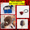 (BUY 10 GET 1 FREE) NEW ARRIVAL Hair accessories / Fashion accessories / Hair clips and hair band