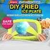 REMAX DIY Fried Ice Plate /DIY homemade smoothies make Ice Cream Rolls / Ice Yogurt / Ice Fruit