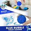 [Free Gift]Blue Bubble Toilet Cleaner 50pcs Set / Kitchen grease cleaner/ pipe cleaner
