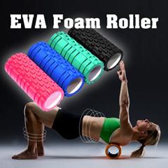 ★★Premium Quality ▶Indoor Sports EVA Foam Roller◀ 4Colors-3rd Generation Original Quality EVA Foam Roller-Export to USA n Europe