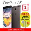 OnePlus 3T (European Model) 64GB FREE SCREEN PROTECTOR + FREE Huawei Earpiece ~ Limited Time only!