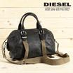 ♥送料無料♥ DIESEL ディーゼル レディース 牛革使い 2way 斜めがけバッグ ハンドバッグ 鞄 ELECCTRA SMALL
