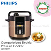 25% OFF While stock lasts- Philips Viva Collection ME Computerized electric pressure cooker HD2139 /Press Touch /6 Liter - Singapore Local Set with 2 years International Warranty