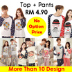 [No Option Price 1_set ] Korean Candy Sweet Couple Pyjamas Wear 1_set__Variety Design