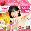 [FREE* 1-PC ENZYME CLEANSER!!! GRAB NOW] Watch Ad! #1 JAPAN ENZYME CLEANSER ★5-in-1 underarm breast face  tummy! ★STEMCELL+ENZYME •NANO MIKI •60g UPSIZED •Made In Japan