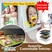【Schneider Electric】 AvatarOn Customisable Switches - Convert Your Switch Into A Photo Frame