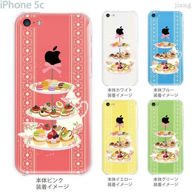 【iPhone5c】【iPhone5cケース】【iPhone5cカバー】【iPhone ケース】【クリア カバー】【スマホケース】【クリアケース】【イラスト】【クリアーアーツ】【アフタヌーンティー】 09-ip5c-ca0037の画像