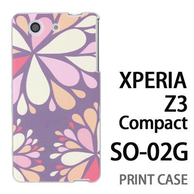 XPERIA Z3 Compact SO-02G 用『0624 灰色花火』特殊印刷ケース【 xperia z3 compact so-02g so02g SO02G xperiaz3 エクスペリア エクスペリアz3 コンパクト docomo ケース プリント カバー スマホケース スマホカバー】の画像