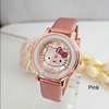 ⭐️Latest Design⭐️ Women Rhinestone PU Leather Quicksand Quartz Watch