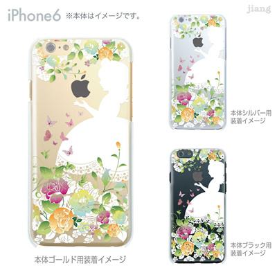 iPhone6 4.7 inch iphone ハードケース Clear Arts ケース カバー スマホケース クリアケース かわいい おしゃれ 着せ替え イラスト 白雪姫 08-ip6-ca0100bの画像